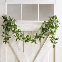 Garlands aren& just for Christmas anymore—you can enjoy the lifelike look of our classic bay leaves design year-round draped over a doorway or embellishing a staircase banister. It also provides a pretty accent for your deck or pergola. Woven Dining Chairs, Dining Room, Steel Pergola, Pergola Patio, Bay Leaves, Pergola Designs, Pergola Ideas, Outdoor Ideas, Leaf Garland