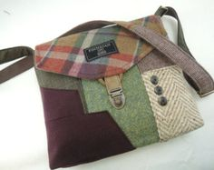 Crossbody bag Crossbody Purse Gift for her by SewMuchStyle