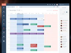 Here's a corporate portal of some IT company (i can't tell how it's called). And a sneak peek at the calendar wip. Bigger version in the attachment.
