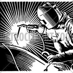 Arc Welder, RetroClipArt.com