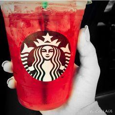 Passion tea from Starbucks