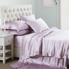22MM 6-teiliges Bettwäsche-Set aus Seide