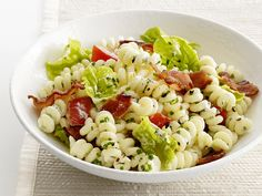 BLT Pasta Salad Recipe : Food Network Kitchen : Food Network - FoodNetwork.com