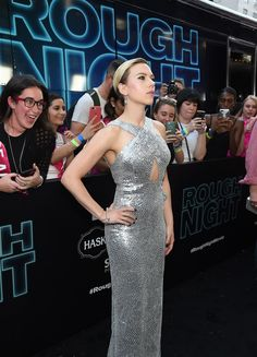 Scarlett Johansson Photos Photos - New York Premiere of Sony's ROUGH NIGHT Presented by SVEDKA Vodka - Zimbio