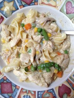 Runs for Cookies Recipes: Chicken 'n' Noodles