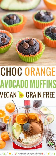 Avocado Muffins an egg-free gluten-free recipe loaded with healthy fats.  An easy flourless vegan recipe, with no refined sugar.  #muffins #muffinrecipes #vegan #veganrecipes #avocados #glutenfreedairyfree #glutenfree #dairyfree