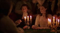 A still frame from the film Barry Lyndon