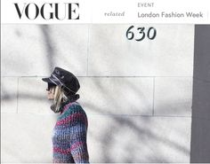 #Vogue #new york fashionweek #celineaagaard #tommyhilfiger