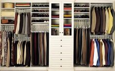 Simple Bedroom with Closet Organizers Wooden Home Depot, White Wooden Shelving Rack Closet Ideas, and Stainless Steel Hanging Closet Design, 10 designs in Home Depot Closet Organizer gallery Home Depot Closet Organizer, Ikea Closet Storage, Ikea Closet System, Closet Storage Systems, Best Closet Organization, Clothes Storage, Organization Ideas, Bedroom Storage, Home Depot Closet System