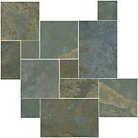 Gobi Small Versailles Pattern 8.70 SF $9.99 Sq Ft     			 					Coverage 8.70 Sq Ft per  Box