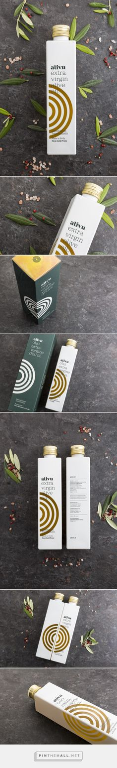 Alivu Olive Oil - Packaging of the World - Creative Package Design Gallery - http://www.packagingoftheworld.com/2017/07/marco-cervetti-knives-id.html