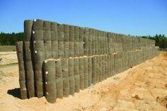 TYPAR Geocells for Gun Firing Range Protection Walls. Outdoor Shooting Range, Outdoor Range, Diy Archery Target, Champs, Shooting Bench Plans, Gun Rooms, Shooting Targets, Air Rifle, Home Defense