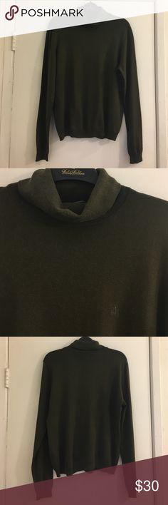 Lauren by Ralph Lauren Turtleneck Sweater Size L 69% Silk, 20% nylon, 16% cotton, 4% spandex. NO TRADES/PAYPAL. Lauren Ralph Lauren Sweaters Cowl & Turtlenecks