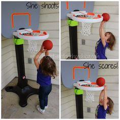 She shoots, she scores!