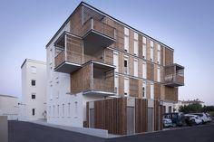 Gallery - Social Housing in Aigues-Mortes / Thomas Landemaine Architectes - 1