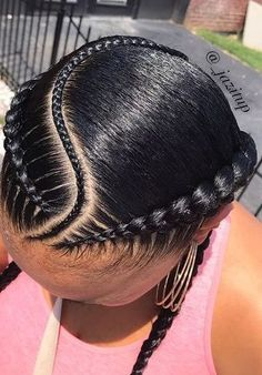 Top 60 All the Rage Looks with Long Box Braids - Hairstyles Trends Box Braids Hairstyles, French Braid Hairstyles, Braided Hairstyles For Black Women, Braids For Black Hair, Braids Cornrows, Wedding Hairstyles, Braids Easy, Woman Hairstyles, Side Braids