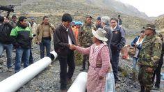 Bolivia Informa: Evo suspende su agenda para trabajar por agua