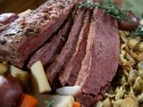 Corned Beef and Cabbage! http://www.foodnetwork.com/recipes/melissa-darabian/corned-beef-and-cabbage-recipe/index.html