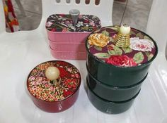 Sisal, Diy Cans, Acai Bowl, Diy And Crafts, Candle Holders, Candles, Canning, Breakfast, Desserts