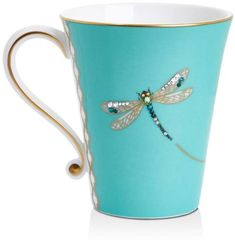 Prouna My Dragonfly Mug - Tiffany Blue