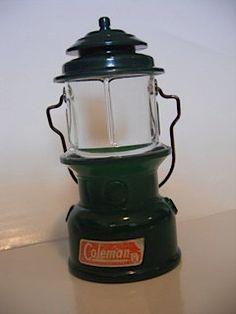 Vintage AVON Coleman Lantern Cologne Bottle