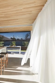 Luxaflex Veri Shades and Evo Awnings, Dining/Kitchen - My Ideal House