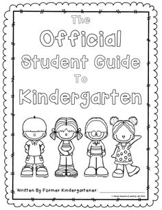 End of year project.  Guide book written by current student to future student.