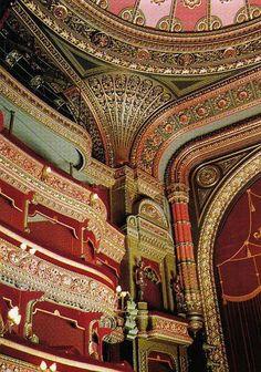 Leeds Grand Theatre, Leeds in Yorkshire - northern England. West Yorkshire, Yorkshire England, Architecture Old, Amazing Architecture, Architecture Details, Oc Fanfiction, Leeds England, Leeds City, Art Nouveau