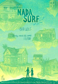 nada surf music gig posters | Gig Posters by Kevin Tong « TYPOGRAFFIT : BLOG