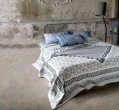 Etnochain Bedspread / Diesel Home Collection #dieselhome #bedding #home #diesel #interior