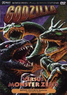 projetor antigo: Godzilla vs. Monster Zero aka A Guerra dos Monstro...