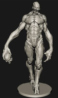 ArtStation - highres sculpt for my school group project, Joshua Wu