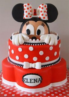 minnie mouse first birthday cakes | Mega update >10 taarten! (Pagina 1) - Bruids- en Stapeltaarten - Het ...