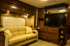 The Fleetwood Discovery definitely doesn't disappoint when it comes to comfort, find the rest at www.ConejoRV.com