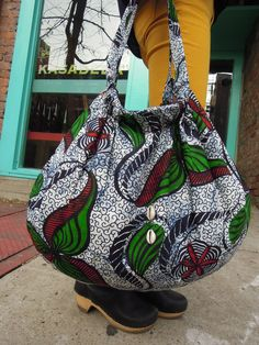 Big African HOBO bag