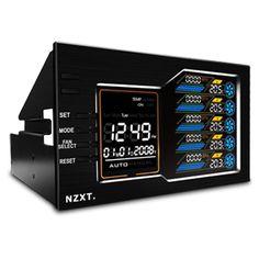 NZAC001 CONTROLADORES PARA VENTILADOR NZXT SENTRY LX PRECIO USD51.99