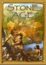 Stone Age board game.  I played this with my friend Nate and loved it.  It's a good faster game (IOW: I could get Maret to play it with me)