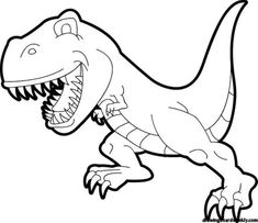 T Rex Coloring Pages . 30 Lovely T Rex Coloring Pages . Dinosaur T Rex Coloring Pages Free Kids Coloring Pages, Dinosaur Coloring Pages, Animal Coloring Pages, Coloring Pages To Print, Free Printable Coloring Pages, Coloring Book Pages, Free Coloring, Coloring Pages For Kids, Kids Colouring
