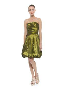 Vestido curto tomara que caia balonê em tafetá com elastano. Cod. 20002   #zumzum #zumzumfesta #vestido #festa #vestidodefesta #dress #partydress
