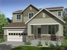 Ryland Homes Scene A of the Candelas Perspectives 4000's community in Arvada, CO.