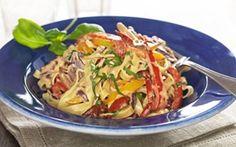 Kermainen kasvispasta / Creamy vegetable pasta
