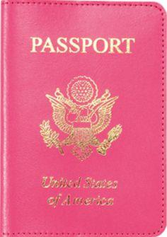 Hot Pink passport