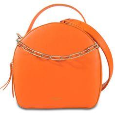 Emilio Pucci Isadora Bag ($1,742) ❤ liked on Polyvore featuring bags, handbags, orange, emilio pucci purse, emilio pucci handbags, orange purse, orange bag and emilio pucci bags