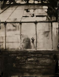 full-plate ambrotype on black glass. Ruby Ambrotype