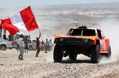 Ralley Dakar about to start in Lima
