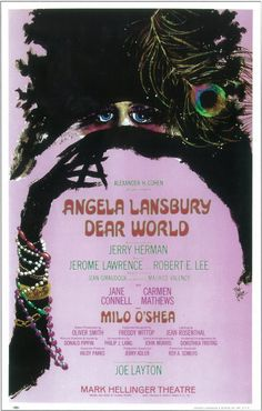 """CAST: Angela Lansbury; DIRECTED BY: Joe Layton; Features: - 14"""" x 22"""" - Packaged with care - ships in sturdy reinforced packing material - Made in the USA SHIPS IN 1-3 DAYS"""