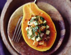 Papaya-Avocado Salad Recipe | Vegetarian Times