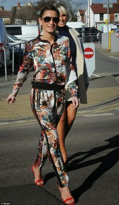 Slender Sam Faiers puts on a brave face as she resumes filming on TOWIE following Crohn's diagnosis