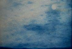 Claro de luna. Oleo sobre macocel. 40x60cms. 2006. Jesús Martínez.