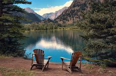 Castle Lakes, Colorado I can see myself sitting here too. @Patricia Nickens Derryberry Colorado